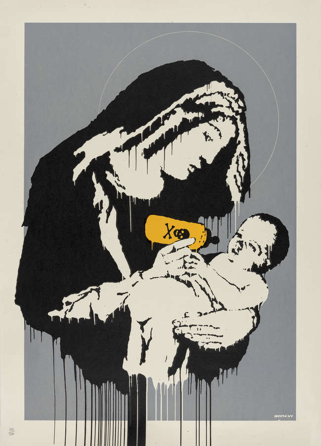 10Banksy 'Toxic Mary' 320/600