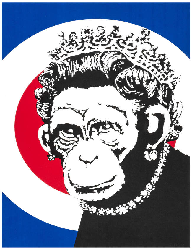 7Monkey Queen unsigned