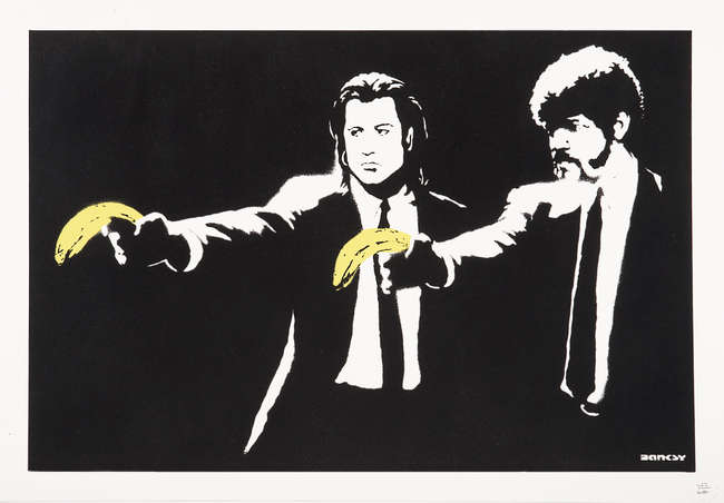 6Banksy Pulp Fiction