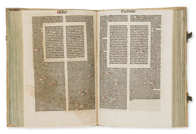 4Latin Bible, 4 vol., Koberger, 1486
