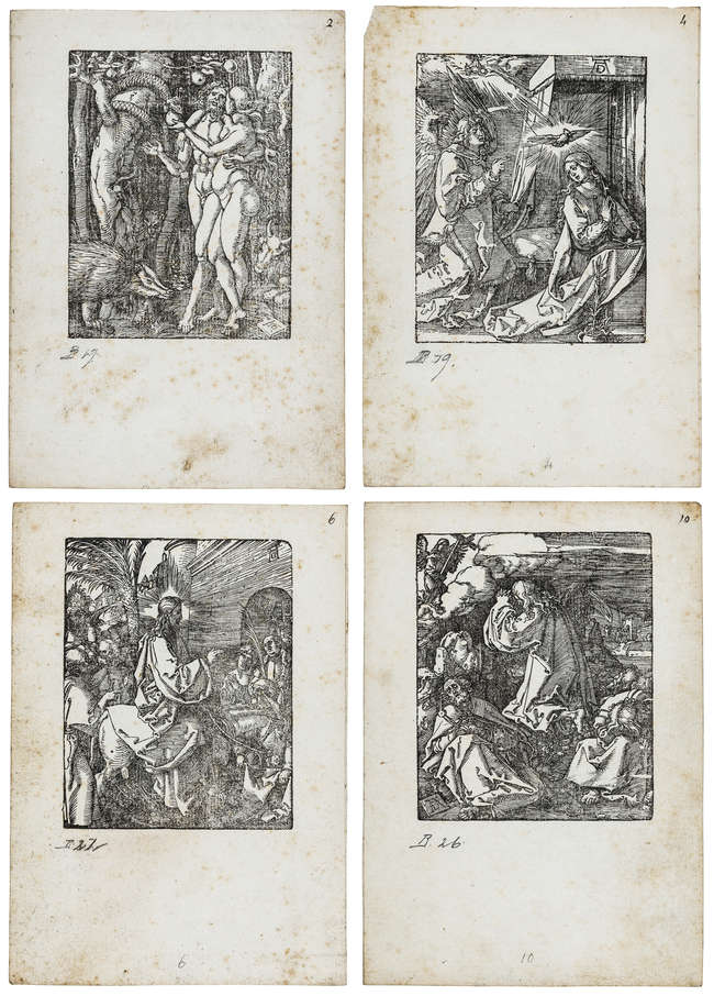 1Albrecht Dürer (1471-1528) The Small Passion [33 plates only (of 36)], circa 1612 and later.