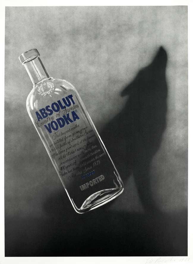6Ed Ruscha Absolut Coyote