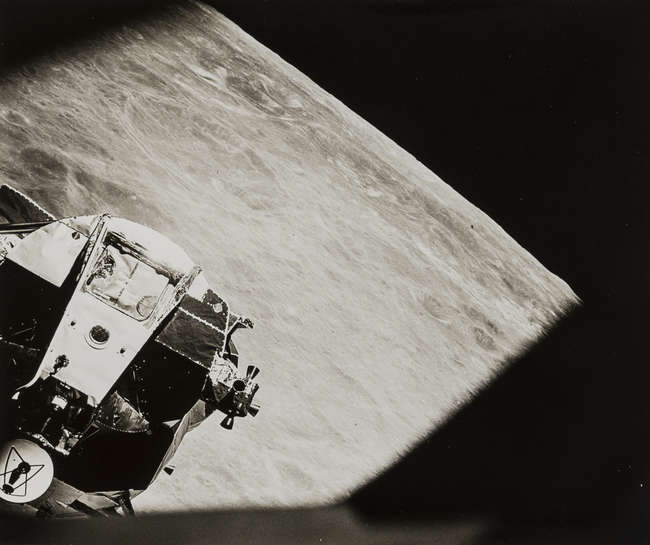 LOT:52 | The Lunar Module seen from the Command Module
