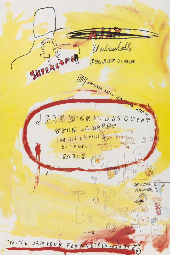 7Jean-Michel Basquiat Supercomb
