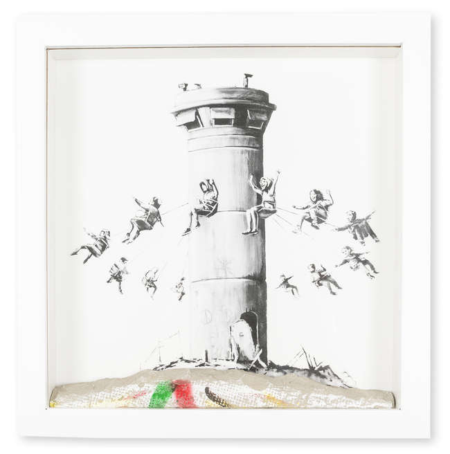 5Banksy Walled Off Hotel multiple