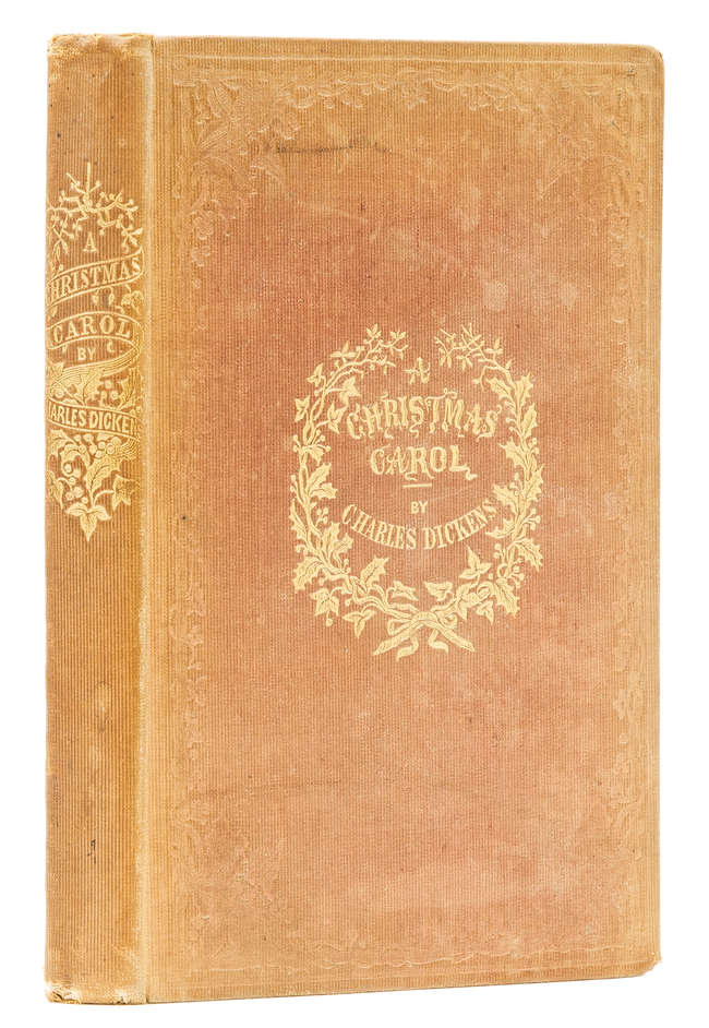62 lot 62 dickens charles a christmas carol first edition - A Christmas Carol First Edition