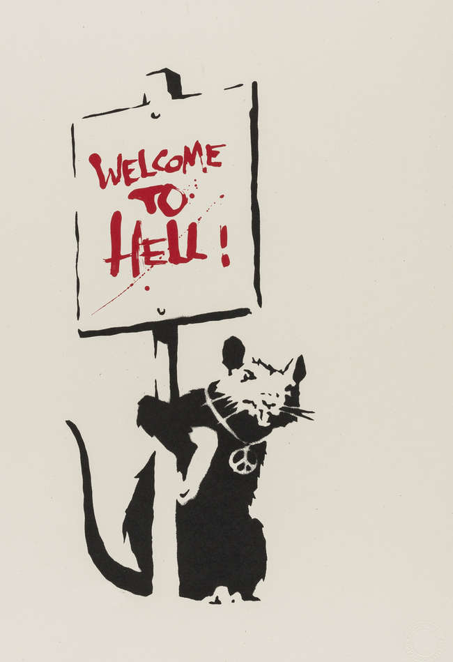 56  Welcome to Hell  Unsigned