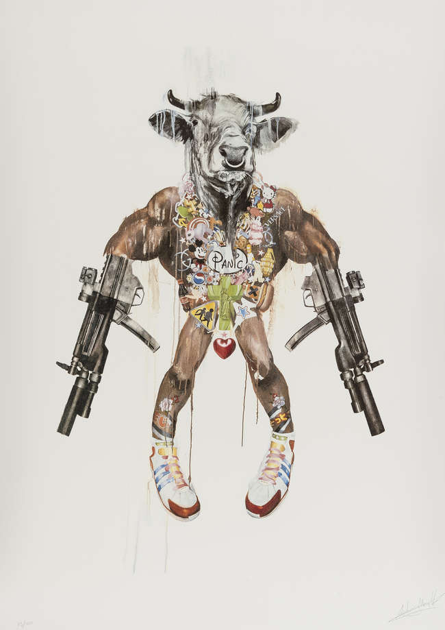 6Antony Micallef - Improvised Minotaur