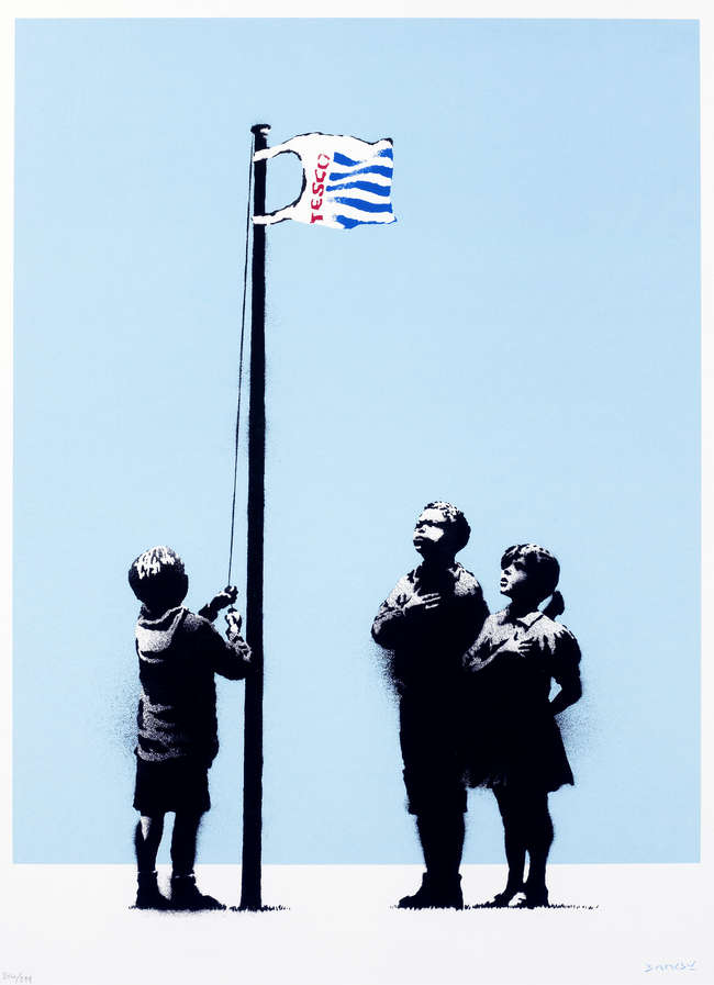 3Banksy - Very Little Helps
