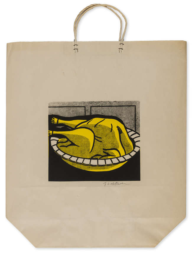 5Roy Lichtenstein - Turkey Shopping Bag