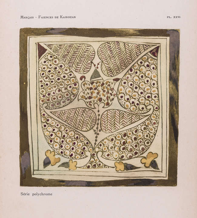 Islamic Art.- Spain & North Africa.- Marcais (Georges) Les Faïences a...