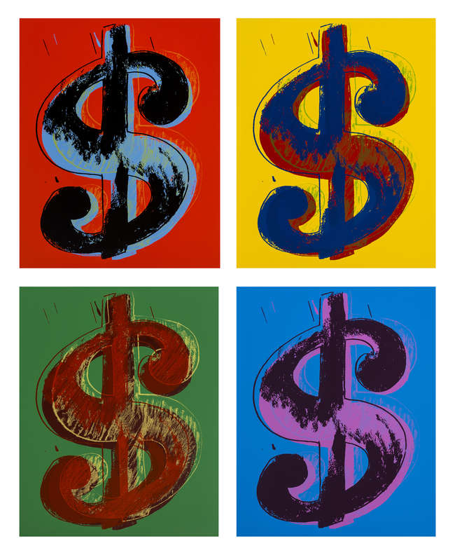 5Dollar Signs (Set of Four)