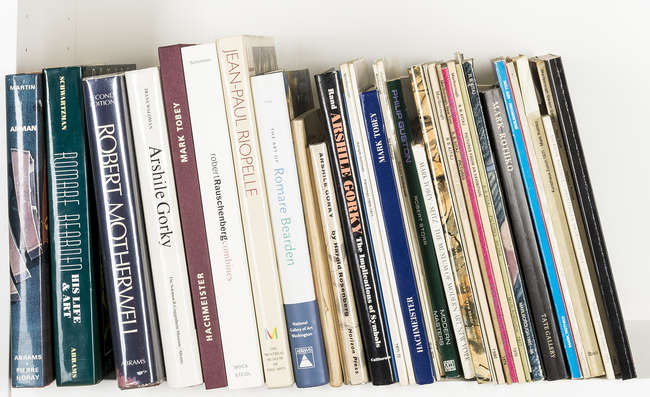 Online Sale: An Art Reference Library