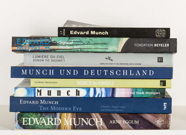 Munch (Edvard).- Eggum (Arne) Edvard Munch: Paintings, Sketches, and...