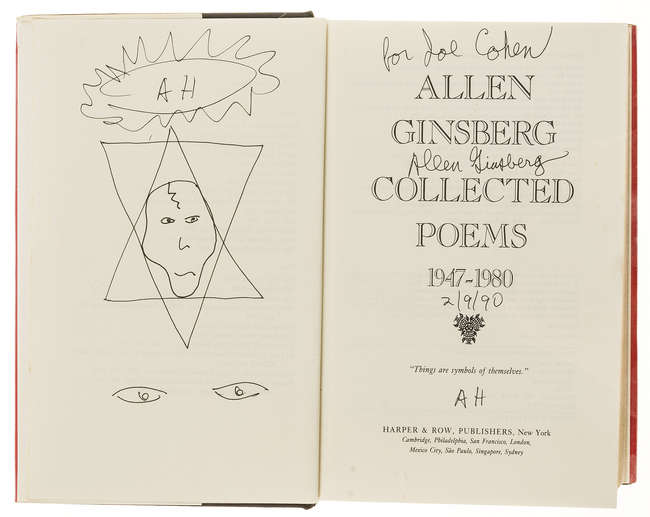 Lot179 Ginsberg Allen Collected Poems 1947 1980 First