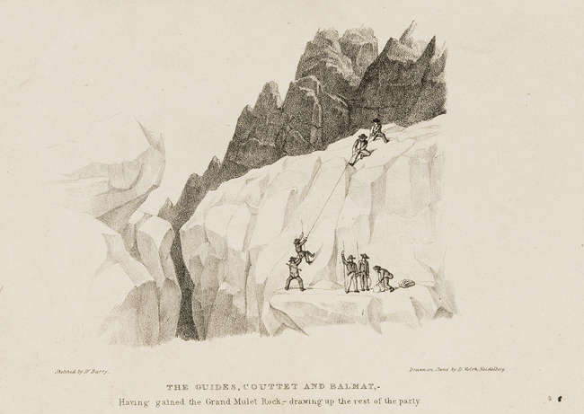 Mountaineering.- Barry (Martin) Ascent to the Summit of Mont Blanc...