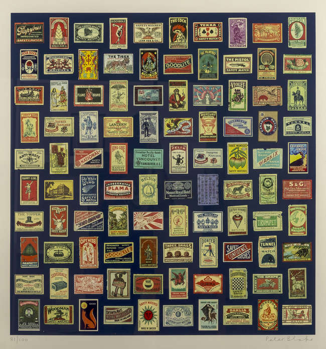 Peter Blake (b.1932) Matchboxes