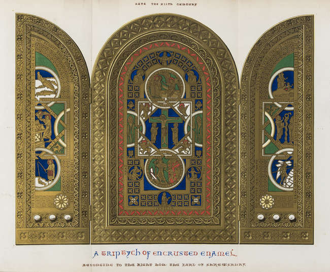 Middle Ages.- Shaw (Henry) Dresses and Decorations of the Middle Ages, 2...