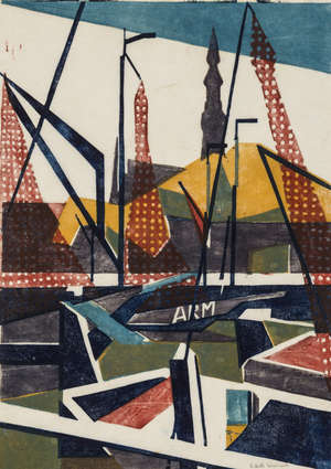 13  Edith Mary Lawrence (1890-1973) Port