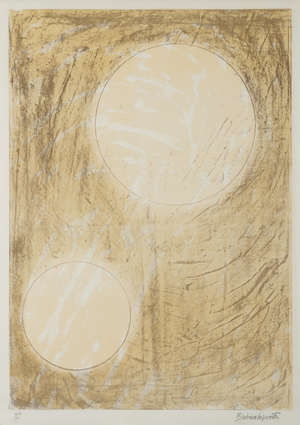 4  Dame Barbara Hepworth (1903-1975) Sun and Water (from the Aegean Suite)