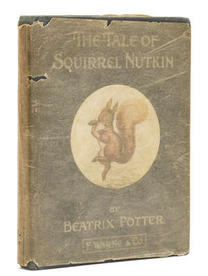 15  Potter (Beatrix) The Tale of Squirrel Nutkin, first edition, glacine dust-jacket , 1903.