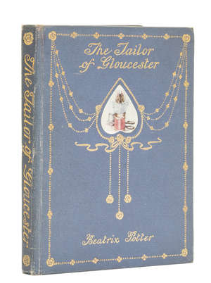14  Potter (Beatrix) The Tailor of Gloucester, first edition, second deluxe binding, [1904].