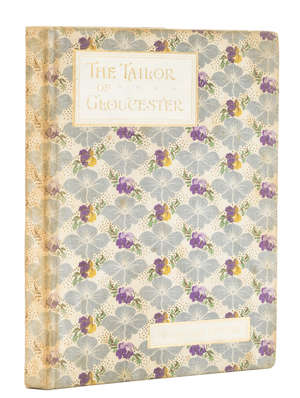 13  Potter (Beatrix) The Tailor of Gloucester, first edition, art fabric deluxe issue, 1903.