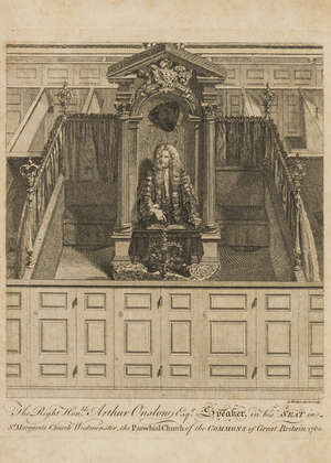 127  London.- Hole (William) The Ornaments of Churches Considered, with a particular View to the late Decoration of the Parish Church of St.Margaret Westminster, first edition, modern half calf, 4to, Oxford, W.Jackson, 1761.
