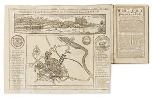 148  Yorkshire.- Gent (Thomas) The Antient and Modern History of the Loyal Town of Rippon, first edition, folding woodcut plan, contemporary calf, spine gilt, 8vo, York, 1733.