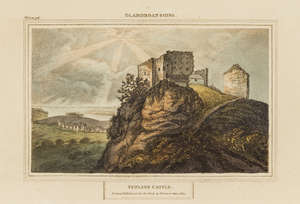 145  Wales.- Donovan (Edward) Descriptive Excursions through South Wales and Monmouthshire, 2 vol., 31 hand-coloured aquatint or stipple-engraved plates, contemporary mottled calf, 8vo, for the Author, 1805.