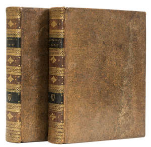 21  Campbell (John) A Politcal Survey of Britain, 2 vol., first edition, Sir Marcus Somerville's copy with his ink signature, contemporary sprinkled calf, spines gilt, 4to, for the Author, 1774.