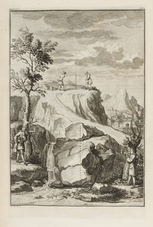 62  Alberti (Leon Battista) The Architecture...Of Painting...Of Statuary, 3 vol. in 1, engraved frontispiece and 75 engraved plates, modern half calf, folio, Thomas Edlin, 1739.