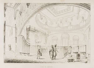 66  Soane (Sir John) Designs for Public and Private Buildings, engraved title and 55 plates, modern boards with contemporary morocco spine, repaired, folio, 1838.