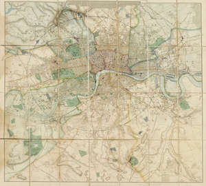 137  London.- Philip (George, & Son) Philip's New Map of London and It's Environs, circa 1885; and another (2).