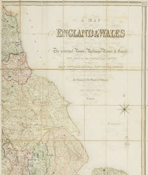 113  British Isles.- Lewis (Samuel) A Map of England and Wales; A Map of Scotland; and A Plan of London and its Environs [circa 1840-1850], (8).