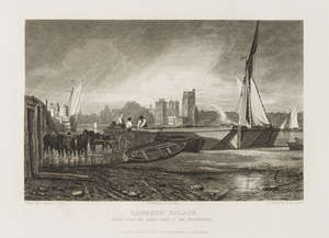 144  Thames.- Cooke (W.B. and George) Views on the Thames, large paper copy, 75 engraved plates, contemporary green straight-grain morocco, gilt, folio, 1822.