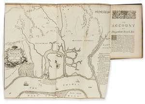 80  Engineering.- Perry (Capt. John) An Acount of the Stopping of Daggenham Breach, first edition, folding engraved map, contemporary calf, 8vo, Benj. Tooke, 1721.