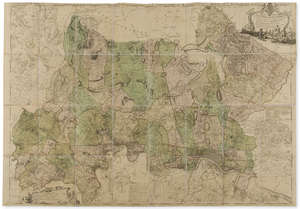 141  Middlesex.- Rocque (John) A Topographical Map of the County of Middlesex, 1754.