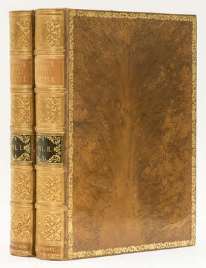 9  America.- Hinton (John Howard) The History and Topography of the United States, 2 vol., first edition, 1830-32.