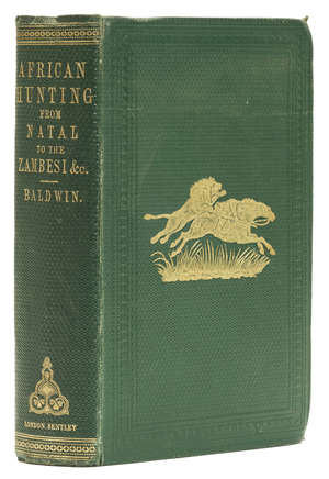 1  Africa.- Baldwin (William Charles) African Hunting from Natal to the Zambesi, first edition, 1863; and 24 others, Africa (25)