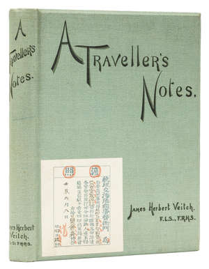 15  Asia.- Veitch (James Herbert) A Traveller's Notes, first edition, For private circulation only, 1896; and 10 others, China, Japan and S.E. Asia, 4to and 8vo (11)