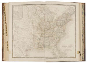 10  America.- Johnston (Alexander Keith) The National Atlas of Historical, Commercial, and Political Geography, first edition, Edinburgh etc, 1844.