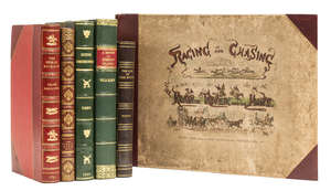 10  Apperley (Charles James) Hunting Reminiscences, first edition, modern half calf, 1843 & others, similar (6)