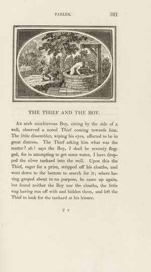 4  Aesop. The Fables..., Imperial paper edition [one of 500 copies], wood-engraved illustrations by Thomas Bewick, later green morocco, uncut, Newcastle, 1818.