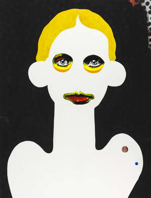16  Paul Insect (b.1971) White Face