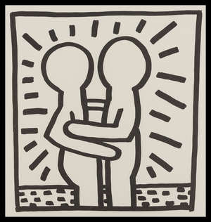 13  Keith Haring (1958-1990) (after) Untitled