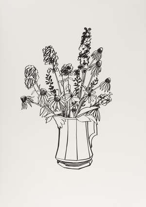 12  Tom Wessellmann (1931-2004) Country Bouquet for Tammy