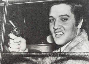 1  Russell Young (b.1959) Elvis Pistol