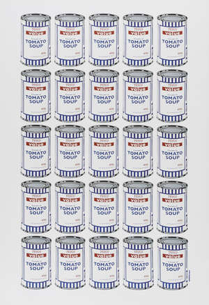 14  Banksy (b.1974) (after) Tesco Tomato Soup Cans