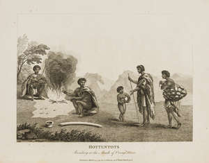 364  Africa.- Paterson (Lt. William) A Narrative of Four Journeys into the Country of the Hottentots and Caffraria, first edition, 17 engraved plates, 1789.